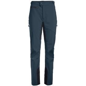 VAUDE Qimsa II Pantalones Softshell Mujer, steelblue